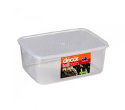 Decor Tell Fresh 10Lt Oblong Container & Lid