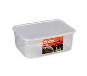 Decor Tell Fresh 10Lt Oblong Container & Lid