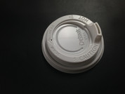8oz Detpak Spout Lids White