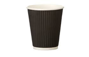 Detpak 16oz Ripple Cups Black