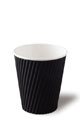 Detpak 8oz Ripple Cups Black