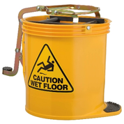 ED Oates Mop Bucket with Castors Yellow