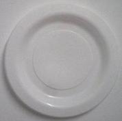 260mm Genfac Plastic Plate White