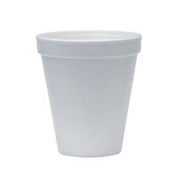 Dart 8oz Foam Cups White