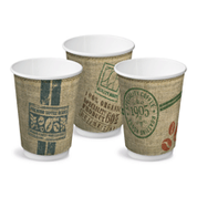 "CA-DW12-JUTE 12oz Double Wall Cups ""Jute"""