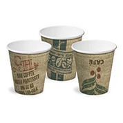 CA-SW8-JUTE 8oz Single Wall Cups JUTE