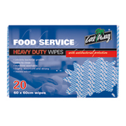 60cm x 60cm Castaway Heavy Duty Wipes