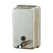 Stainless Steel Vertical Soap Dispenser Unit