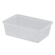 GE750ml Rectangular Container Base