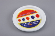 Partyware 180mm Plastic Lunch Plates