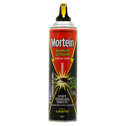Black 350g Mortein Surface Spray