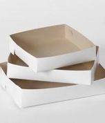 No 25 White Trays