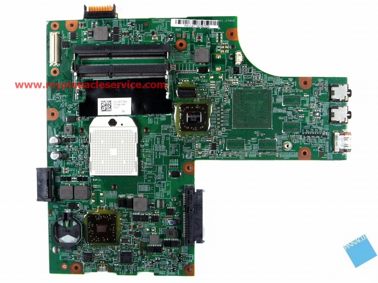 0FJ2GT Dell Inspiron 15R M5110 AMD Motherboard FJ2GT