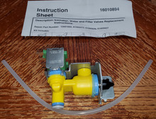 MAYTAG 12001892 SOLENOID VALVE NEW OEM FREE SHIPPING WITHIN THE US!!