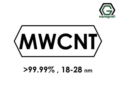Grafitleştirilmiş Çok Duvarlı Karbon Nanotüp (Saflık > 99.99%, Dış Çap: 18-28nm)