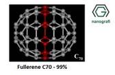 Fulleren-C70 Saflık: 99%
