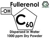 Polihidroksilat Fulleren (Fullerenol) / C60, -OH ile Fonksiyonlaştırılmış, Su İçerisinde Disperse Edilmiş, 1000 ppm