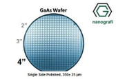 "GaAs Wafer, 4"", Single Side Polished, 350± 25 μm, EPI-ready"