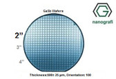 "Gallium Antimonide (GaSb) Wafers, 2"", Thickness:500± 25 μm, Orientation: 100, EPI-Ready"