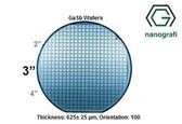 "Gallium Antimonide (GaSb) Wafers, 3"", Thickness: 625± 25 μm, Orientation: 100, EPI-Ready"