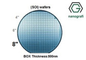 Silicon on Insulator (SOI) Wafers, Size: 8'', Devide Thickness: 300 nm, P type