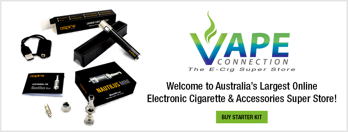 Buy E Cigarettes Australia | Vape Store Online | Vape Connection