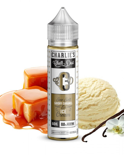 Charlie's Chalk Dust, Charlie's Chalk Dust - CCD3 Caramel Ice Cream, CCD3, Caramel Ice Cream, Caramel, Vanilla, Cream, Salted Caramel