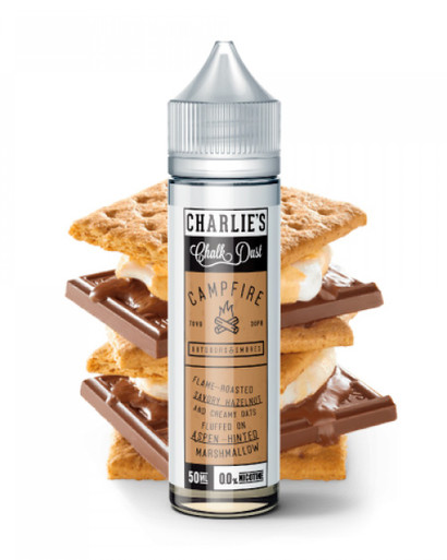 Charlie's Chalk Dust, Charlie's Chalk Dust Campfire, Campfire, Graham Cracker, Marshmallow, Chocolate,
