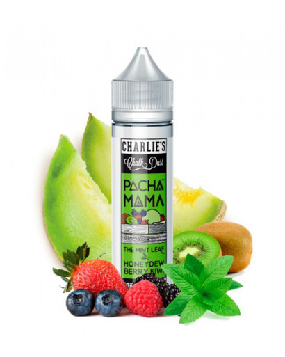 Charlie's Chalk Dust, Charlie's Chalk Dust - Pachamama Mint leaf Honeydew Berry Kiwi, Mint, Honeydew, Berry, Kiwi