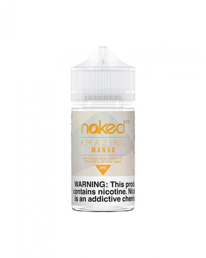 buy ejuice, buy ejuice australia, eliquid australia, Naked Ejuice  Amazing Mango, Mango, Peaches, Cream, Naked 100,