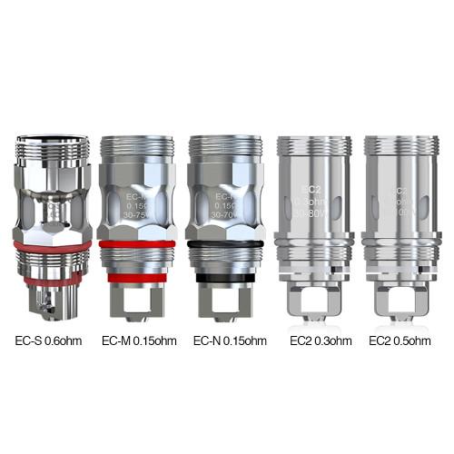 Eleaf, Eleaf EC2 Coils, Eleaf Melo 4 Coils, Eleaf EC2 Coils for Melo 4,  5 pack of Eleaf EC Series Coils for Melo 4/5,