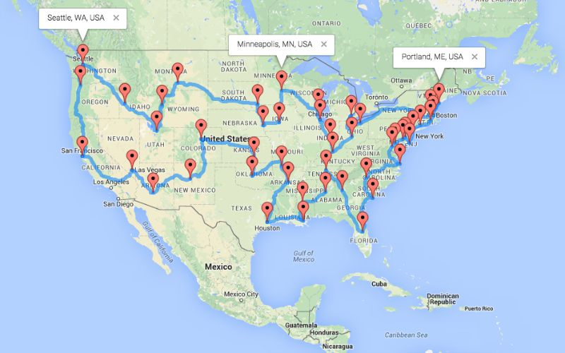 The Ultimate Motorcycle Road Trip Across the US - The USA ...