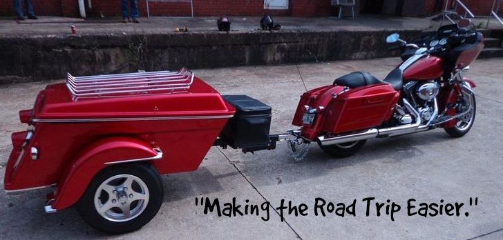 Motorcycle Trailer Packing Tips
