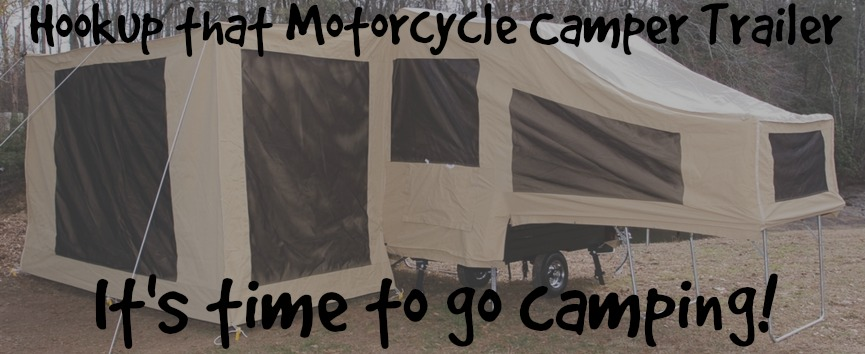 Camping Trip with Your Motorcycle Trailer