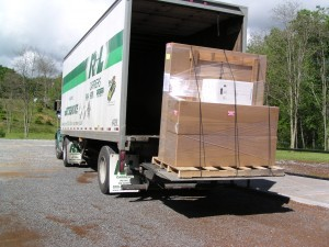 Curbside Delivery on Motorcycle Trailers and Pull Behind Trailers