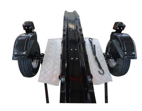 Ace Motorcycle Trailer Running Board Kit