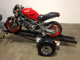 Ace Running Boards hauling Ducati motorcycle side