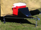 Aerodynamic Cooler on Solace Camping Trailer