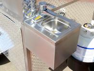 Cash Calf Hot Dog Cart Sink Upgrade