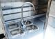 Hot dog cart 4 basin sink