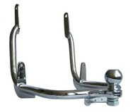 Liberty II Chrome Motorcycle Trailer Hitch