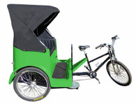 Park Place Pedicab Side View