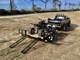 Double Duty Utility Trailer Hauling ATV