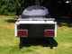 Solace Bike Camper Trailer Back