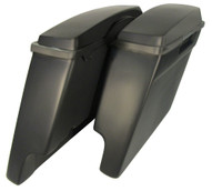 "6"" extended saddlebags with lids combo"