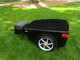 Vision Motorcycle Trailer  Left Angled View