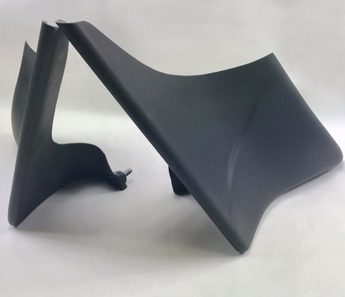 """1997-2008 4"""" Harley Custom Stretched Side Covers"""