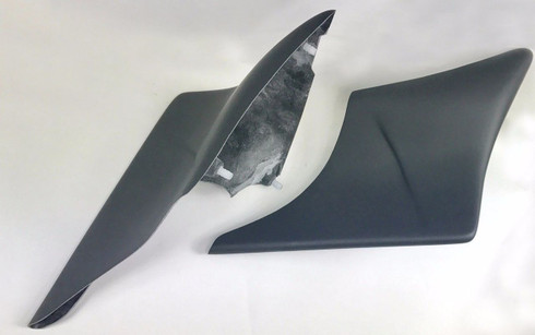 "2009-2013 6"" Harley Custom Stretched Side Covers"