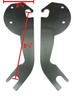 Harley Softail mounting bracket