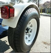 Spare Tire and Wheel for Tow Max Dolly